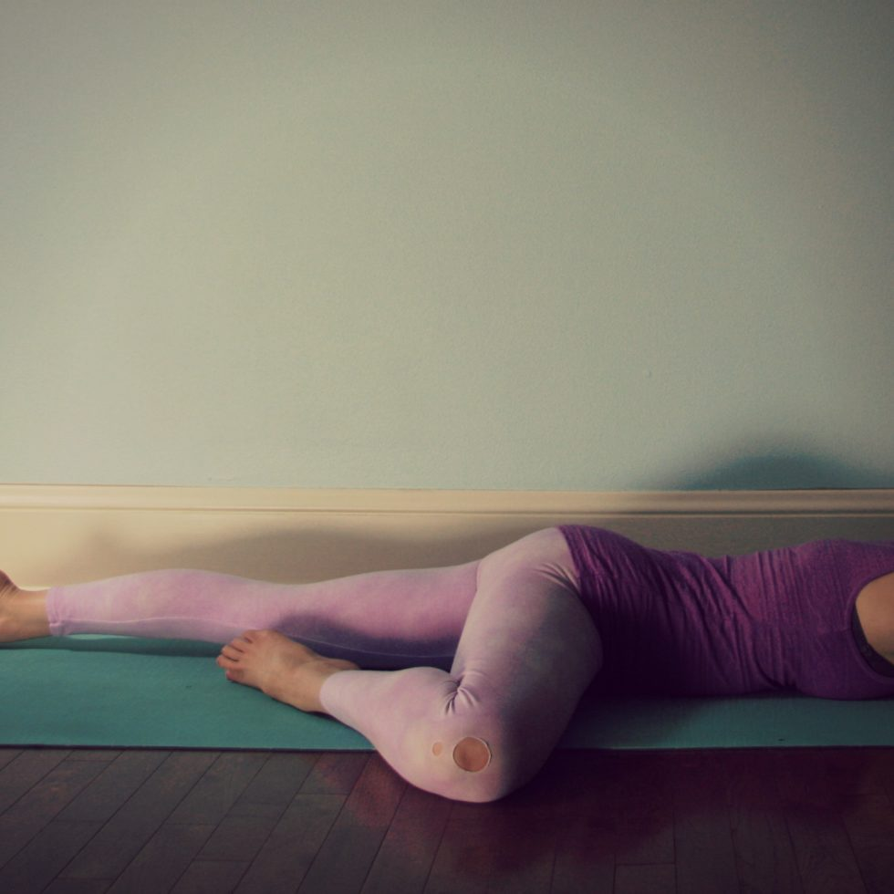 5-pose practice/ yoga for calming down